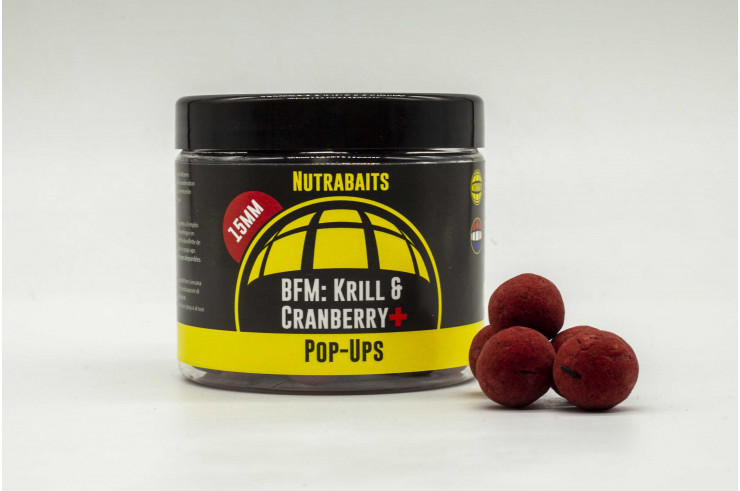 BFM Krill & Cranberry+ Shelf-Life Pop Ups