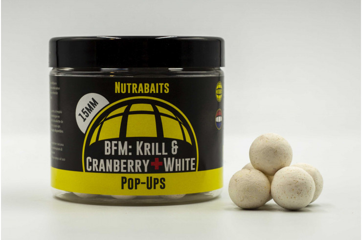 BFM Krill & Cranberry+ White Shelf-Life Pop Ups