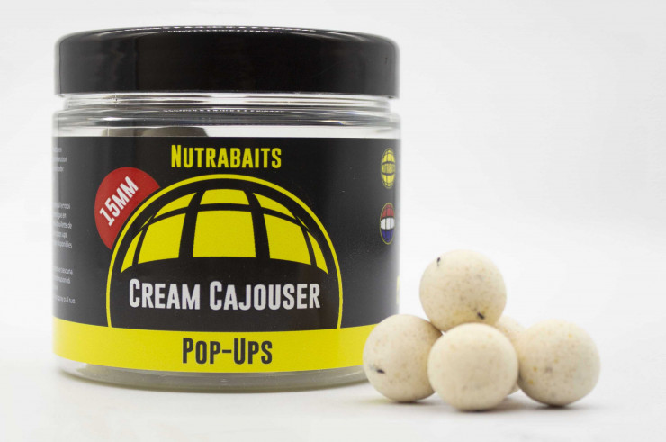 Cream Cajouser Shelf-Life Pop Ups